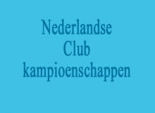 Ned. Clubkampioenschappen kopafbeelding
